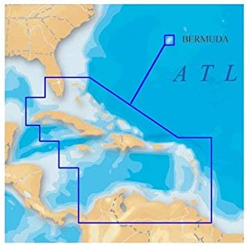 Navionics Platinum+ SD 908 Caribe + Bermuda Nautical Chart en Tarjeta SD/Micro-SD – MSD/908P-2: Amazon.es: Electrónica