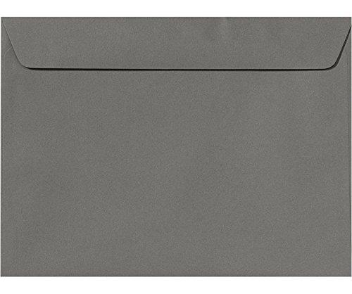 9 x 12 Booklet Envelopes - Smoke Gray (50 Qty.)