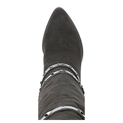 Carlos by Carlos Santana Authority Femmes US 8.5 Noir Botte