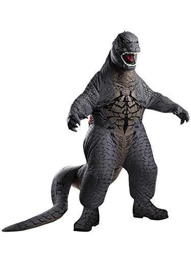 Rubie's Men's Godzilla Adult Inflatable Air Blown, Multicolor, Standard -