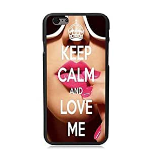SHOUJIKE Keep Calm and Love Me Design Hard Case for iPhone 6 Plus
