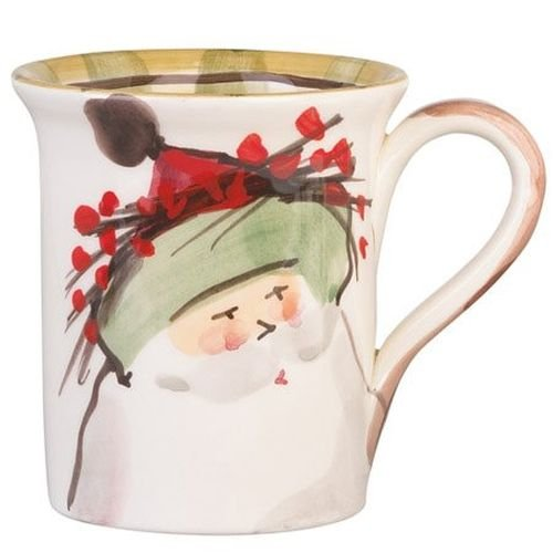 (Old St. Nick Mug - Green Hat)