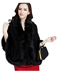 Amazon.com: Black - Fur & Faux Fur / Coats, Jackets & Vests ...