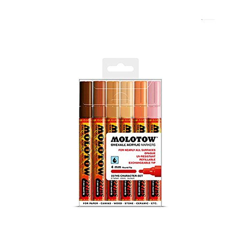 Molotow 227Hs Character 4Mm Set-6 Piece