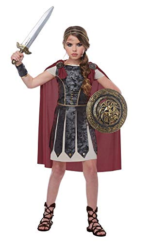 Fearless Gladiator Renaissance Child Girls Costume