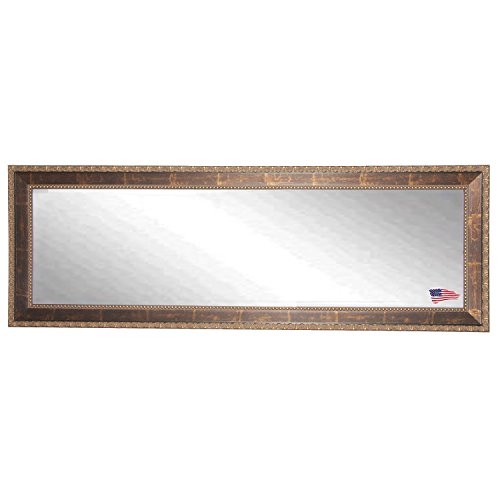 Rayne Mirrors DV041XL American Made Roman Copper Double Vanity Wall Mirror, Bronze