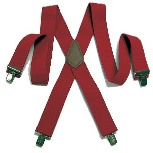 Santa Claus Deluxe Red Suspenders