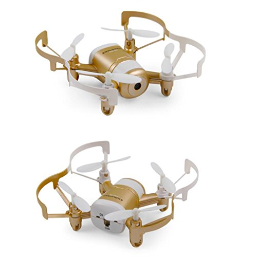 WensLTD Gift ! JXD 512DW 2.4G 6-axis 4CH HD Camera WiFi FPV Gyro RC Quadcopter Altitude Hold Gold by WensLTD