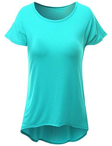 SJSP Good Quality Vivid Basic T-Shirt JADE,M