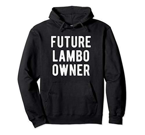 Cryptocurrency Hoodie Future Lambo Owner Funny Bitcoin Shirt