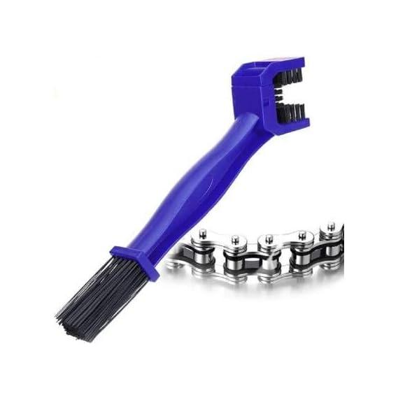 RA Accessories Multipurpose Motorcycle/Cycle Chain Cleaner Brush Bike Chain Clean Brush
