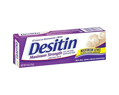 DESITIN Maximum Strength Diaper Rash Paste 4 oz ( Pack of ...