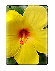 Tpu Case Cover Compatible For Ipad Air/ Hot Case/ Yellow Flowers