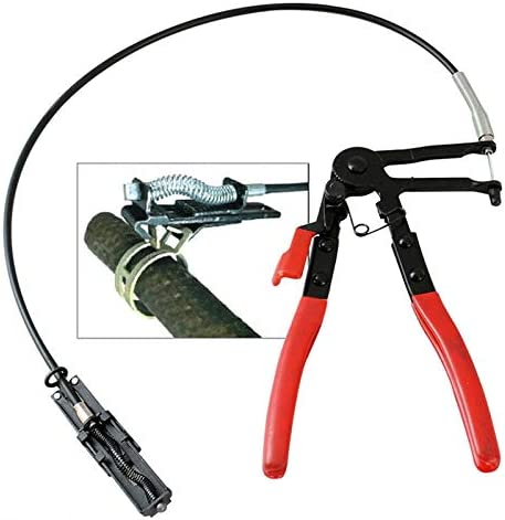 """Flexible Hose Clamp Plier 24/"""" Wire Long Reach For Fuel Oil Water Hose Auto Tool"""