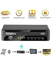 Digital Converter Box for Analog TV, Leelbox Q03S ATSC Converter Box HD 1080P with Record, Pause Live TV, USB Multimedia Playback, and HDTV Set Top Box [2018 Update Version]