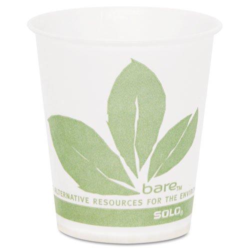Paper Cold Cup, Bare Design, 5 oz, 3000/Carton