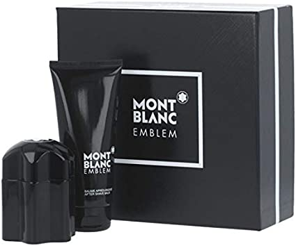 Estuche para hombre Montblanc Emblem Eau de Toilette 60 ml + loción tras el afeitado de 100 ml: Amazon.es: Belleza