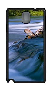 Samsung Galaxy Note 3 N9000 Cases & Covers -Flowing water Custom PC Hard Case Cover for Samsung Galaxy Note 3 N9000šCBlack