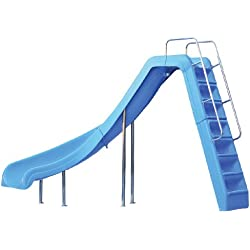 Inter-Fab WRS-CLB-SS Water Pool Slide, Wild Ride, Blue