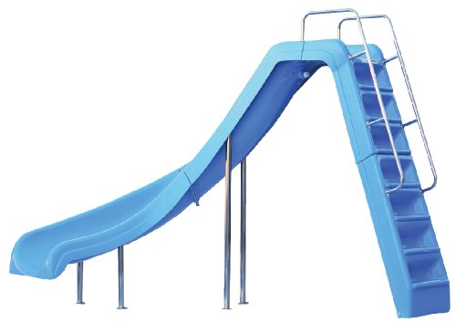 Inter-Fab WRS-CLB-SS Wild Ride Pool Slide - Blue