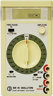Elenco GF-800/555, Sine/Square Wave Audio Generator, Pack of 4 pcs