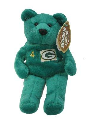 Salvinos Bammers Bear.... Green Bay Packer Brett Favre #4