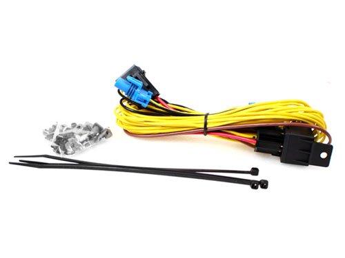 11-14 VW JETTA MK6 SEDAN FOG LIGHT WIRING HARNESS KIT - 9006 ProMotoring