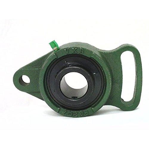 - VXB Brand UCFA206-18 Black Oxide Plated Insert Bearing Adjustable Flange Cartridge Bearing 1 1/8