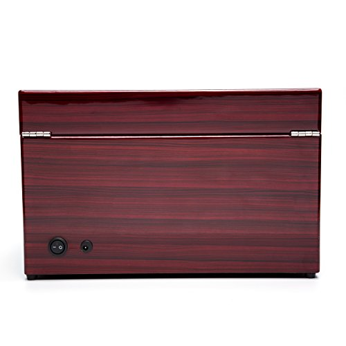 Wood 4+6 Watch Winder Mens Watches Box Storage Display Automatic Rotation Jewelry Case Organizer by Gregarder (Image #3)