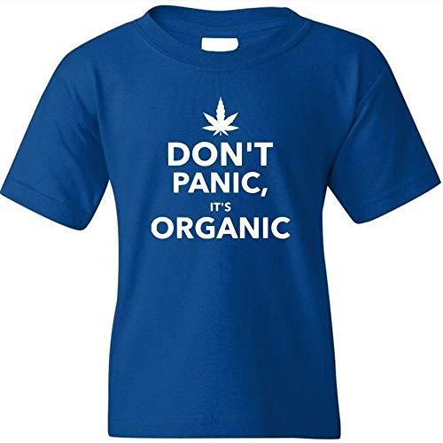 Danielles Custom Crafts Shirt Weed T Cannabis Organic Tee Shirts Designed Graphic Funny Gift Marijuana Blue