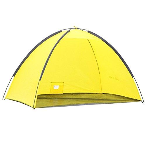 Semoo Lightweight Beach Shade Tent Sun Shelter With Carry Bag