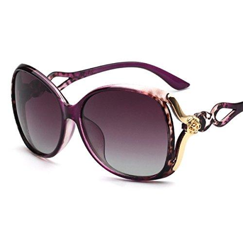 2c3fb444b3 YUEER Nuevo Moda Polarizador Mujeres Protección UV Moda Gafas De Sol Gafas  De Sol Para Exteriores