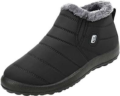 Amazon.com   FEETCITY Mens Snow Boots Women Winter Anti