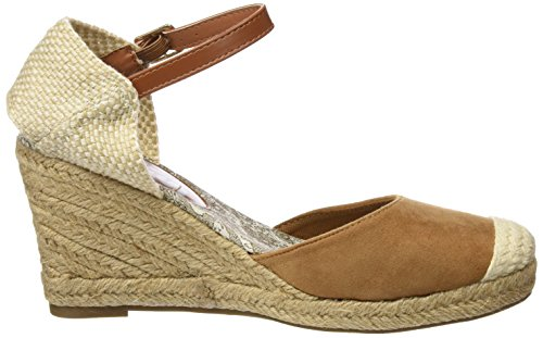 Refresh 063573, Sandalias con Plataforma para Mujer Hueso (Camel)
