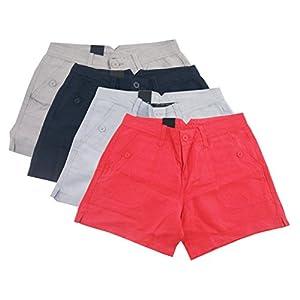 Calvin Klein Jeans Women's Linen Shorts