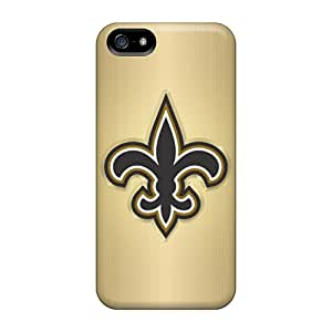 Bumper Cell-phone Hard Covers For Iphone 5/5s With Customized Fashion New Orleans Saints Pictures LavernaCooney