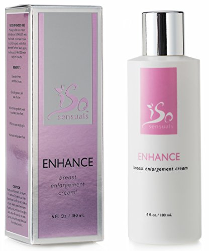 IsoSensuals Enhance Breast Enlargement Cream - 1 Bottle (2 Month Supply) (Best Breast Enhancement Pills Reviews)