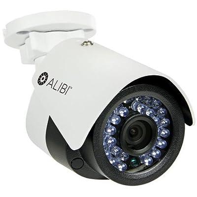 Alibi 4.0 Megapixel 65 ft IR IP Outdoor Bullet Security Camera by SCD