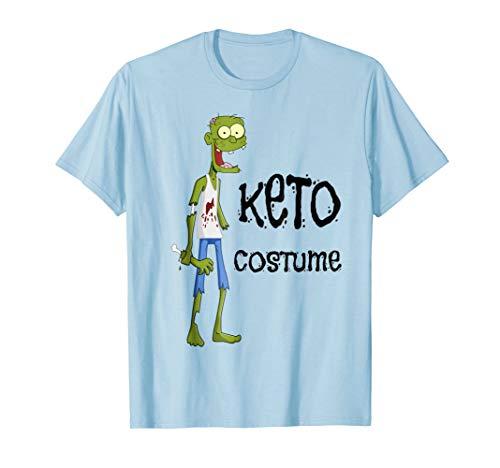 Funny Keto Zombie Halloween Costume Gift T Shirt -