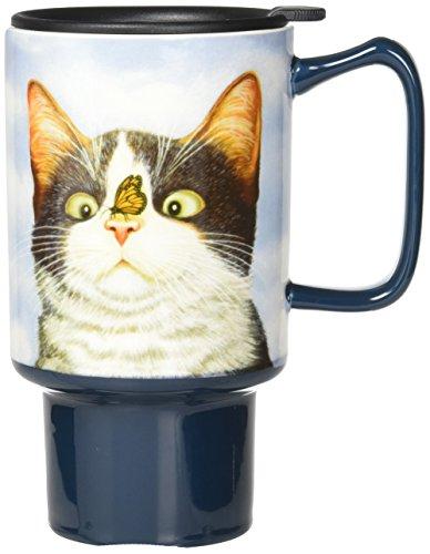 LANG - 18 Oz Ceramic Travel Mug -
