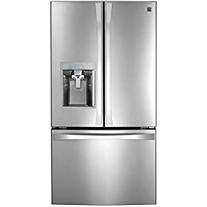 Kenmore Elite 74093 31.7 cu. ft. French Door Bottom Freezer Refrigerator in Stainless Steel, includes delivery and hookup