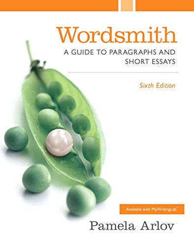 9780130488954 - Wordsmith A Guide to Paragraphs and Short Essays, Second Edition by Pamela Arlov