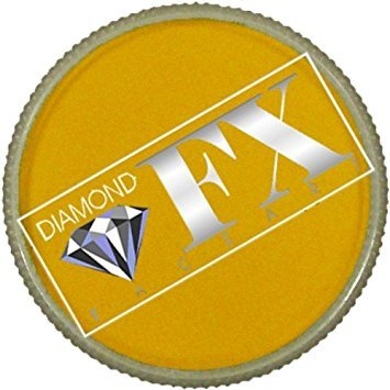 (Diamond FX Essential Face Paint - Golden Yellow (30)