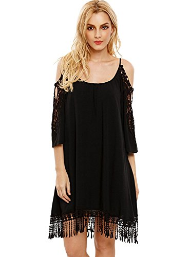 Buy black lace dress by laundry - 8