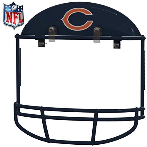 1st Collectible (Chicago Bears Helmet - License Plate Frame Cover / Wall Decoration for Man Cave and Kid's Room   Authentic Collectible NFL Accessory   Makes the Perfect Gift   Be the First to get it)