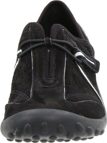 Clarks Dames Tequini Slip-on Zwarte Nubuck