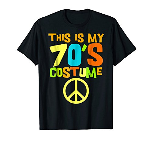 This Is My 70s Costume Tshirt | Retro Party Wear Outfit Tee