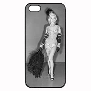 Monroe Image Personalized Custom Plastic Hard Case For Iphone 5/5S Cover Durable