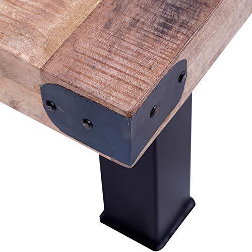 Hogar Decora Mesa de Centro con Ruedas, diseño Industrial, Dimensiones; 110cm x 80 cm: Amazon.es: Hogar