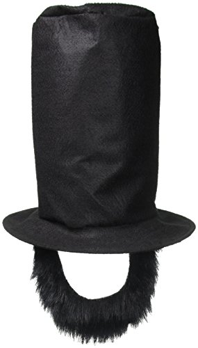 Forum Abraham Lincoln Costume Set - Lincoln Hat With Beard